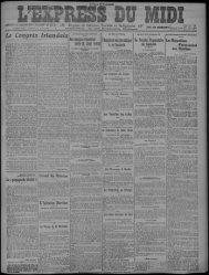 25 janvier 1922 - Bibliothèque de Toulouse - Mairie de Toulouse
