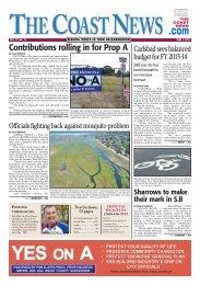 The Coast News, June 7, 2013