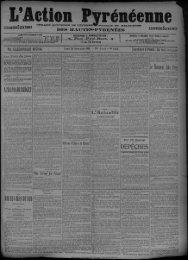 21 novembre 1910 - Bibliothèque de Toulouse