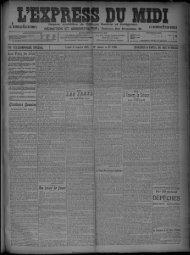 11 janvier 1909 - Bibliothèque de Toulouse
