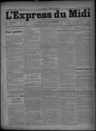 19 octobre 1891 - Bibliothèque de Toulouse