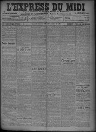 12 Décembre 1908 - Bibliothèque de Toulouse