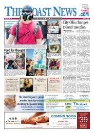 The Coast News, May 31, 2013