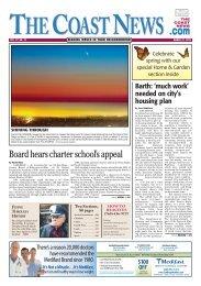 The Coast News, March 22, 2013