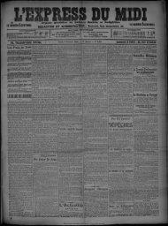 FIL TELEGRAPHIQUE SPECIAL Lundi 3 Février 1908.