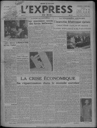 LA CRISE ECONOMIQUE - Bibliothèque de Toulouse