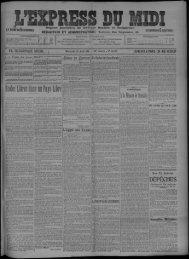 23 Août 1911 - Bibliothèque de Toulouse