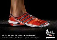 Ab 22.03. neu im SportXX Grüzepark:
