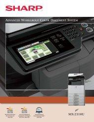 MX-2310U Brochure - Tap The Web