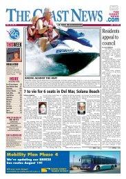 The Coast News, Aug. 17, 2012