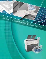 KIP 7100 - ULTIMATE MULTIFUNCTION ... - Tap The Web