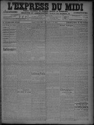 Samedi 6 Mars 1909. - Bibliothèque de Toulouse
