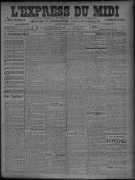 Vendredi 8 Avril 1909 - Bibliothèque de Toulouse