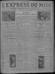 28 janvier 1933 - Bibliothèque de Toulouse