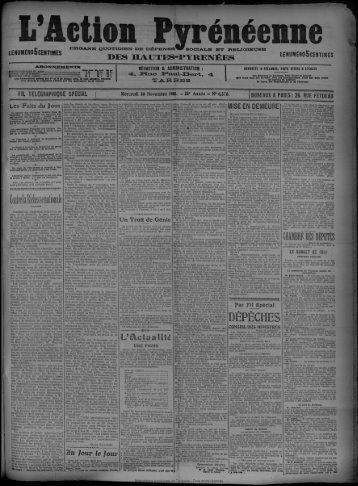 30 novembre 1910 - Bibliothèque de Toulouse