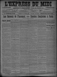 30 octobre 1903 - Bibliothèque de Toulouse