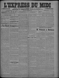 20 septembre 1913 - Bibliothèque de Toulouse