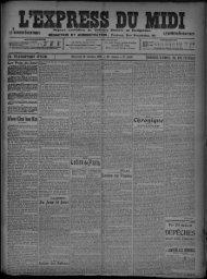 28 Octobre 1908 - Bibliothèque de Toulouse