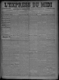 27 Décembre 1908 - Bibliothèque de Toulouse