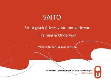 Strategisch Advies voor Innova e van Training & Onderwijs