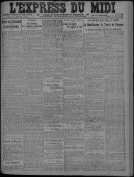 MERCREDI 8 JUIN 1921 - Bibliothèque de Toulouse
