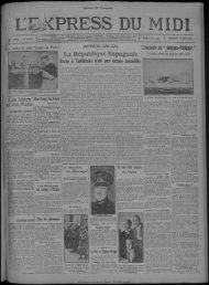 18 MAI 1932 - Bibliothèque de Toulouse