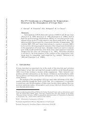 Far-UV Continuum as a Diagnostic for Temperature Structure in the ...