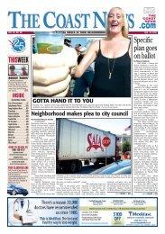 The Coast News, Aug, 10, 2012