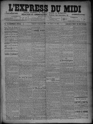 17 Septembre 1909 - Bibliothèque de Toulouse