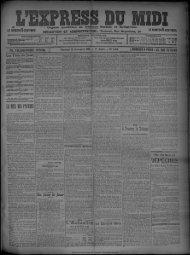 22 Novembre 1907 - Bibliothèque de Toulouse