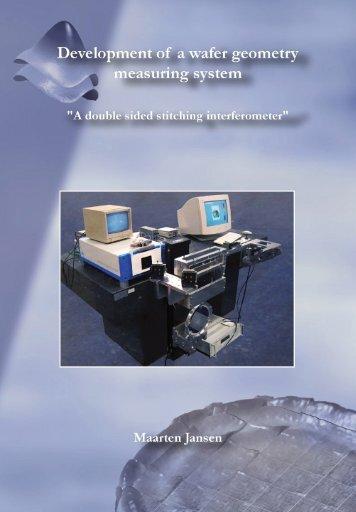 Development of a wafer geometry measuring system - Technische ...