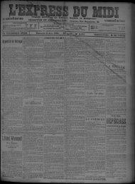 Dimanche 3 Août 1902. - Bibliothèque de Toulouse