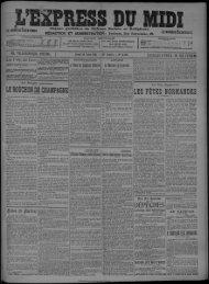 23 Mars 1911 - Bibliothèque de Toulouse