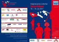 eidgenössisches jodlerfest 2011 interlaken postfach ... - Panorama