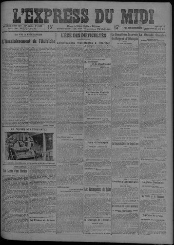 18 mai 1924 - Bibliothèque de Toulouse - Mairie de Toulouse