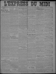 14 janvier 1919 - Bibliothèque de Toulouse