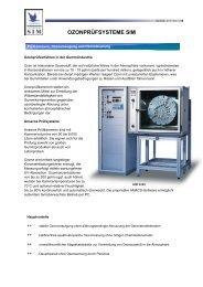 Anseros Ozonprüfsysteme SIM: SIM-6300