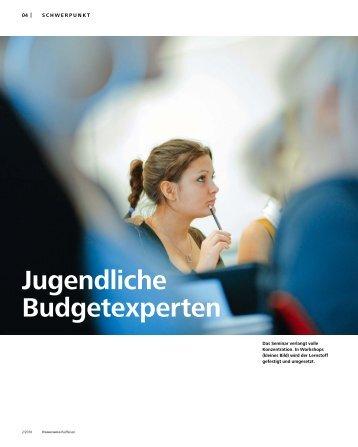 Jugendliche Budgetexperten - Panorama - Raiffeisen