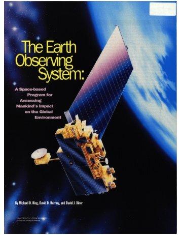 The goal is - MODIS Atmosphere - NASA
