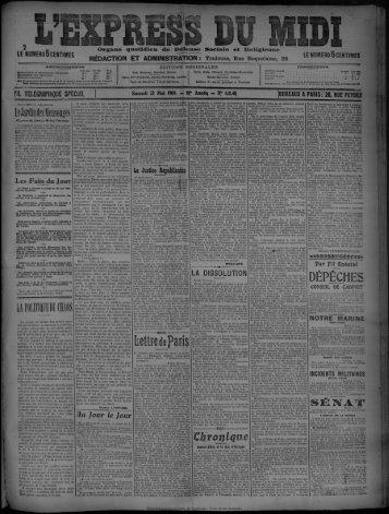 22 Mai 1909 - Bibliothèque de Toulouse