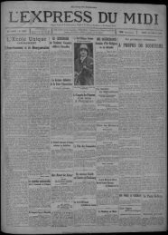 14 janvier 1929 - Bibliothèque de Toulouse - Mairie de Toulouse