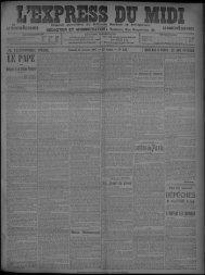 12 Janvier 1907 - Bibliothèque de Toulouse