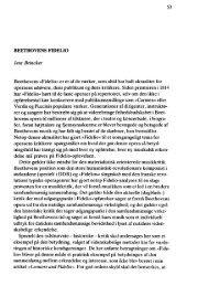 Jens Brincker Beethovens »Fidelio« er et af de værker, som altid har ...