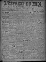 21 Juillet 1908 - Bibliothèque de Toulouse