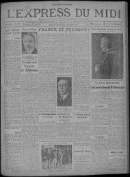 24 octobre 1929 - Bibliothèque de Toulouse