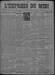 22 juillet 1925 - Bibliothèque de Toulouse