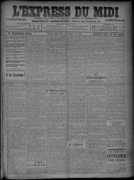 14 juillet 1908 - Bibliothèque de Toulouse