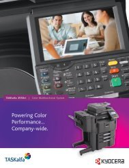 TASKalfa 3550ci Brochure - Tap The Web