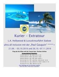 Kurier - Extratour