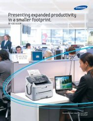 Presenting expanded productivity in a smaller footprint.